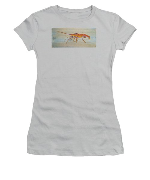 Florida Lobster Women's T-Shirt (Athletic Fit)