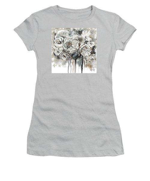 Floral Anxiety  Women's T-Shirt (Junior Cut)