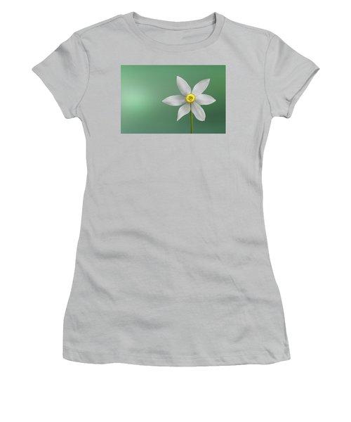 Flower Paradise Women's T-Shirt (Junior Cut) by Bess Hamiti