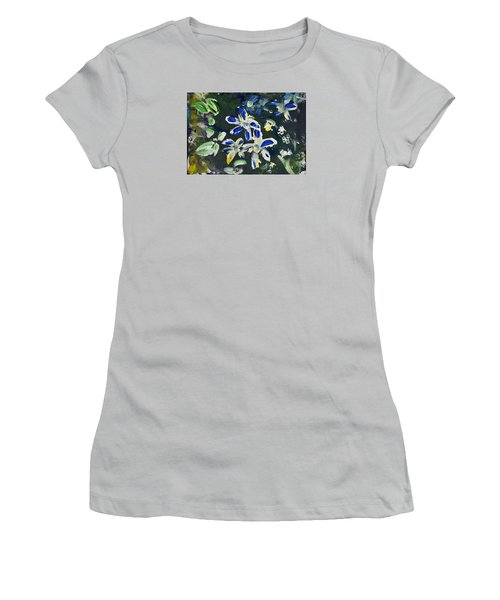 Flower Play Women's T-Shirt (Athletic Fit)