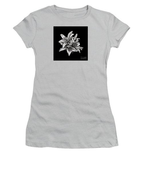 Flowers 8449 Women's T-Shirt (Junior Cut) by Walt Foegelle