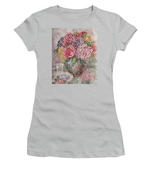 Flowers Arrangement  Women's T-Shirt (Athletic Fit)