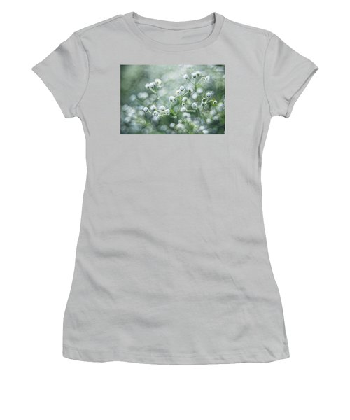 Flowers Women's T-Shirt (Junior Cut) by Jaroslaw Grudzinski