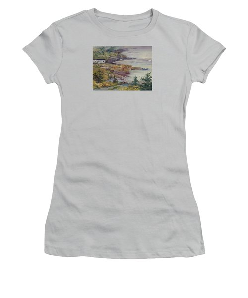 Fog Lifting Women's T-Shirt (Junior Cut) by Jane Thorpe