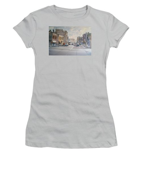 Fond Du Lac - Main Street Women's T-Shirt (Athletic Fit)