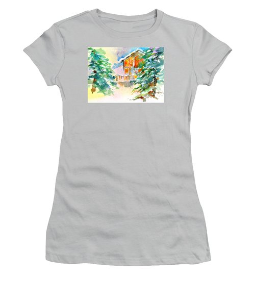 For Love Of Winter #3 Women's T-Shirt (Junior Cut) by Betty M M Wong