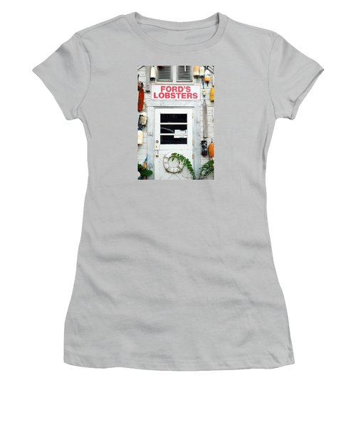 Fords Lobster Women's T-Shirt (Junior Cut)