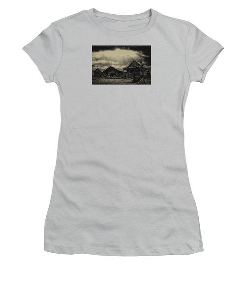 Women's T-Shirt (Junior Cut) featuring the photograph Forgotten Years by B Wayne Mullins