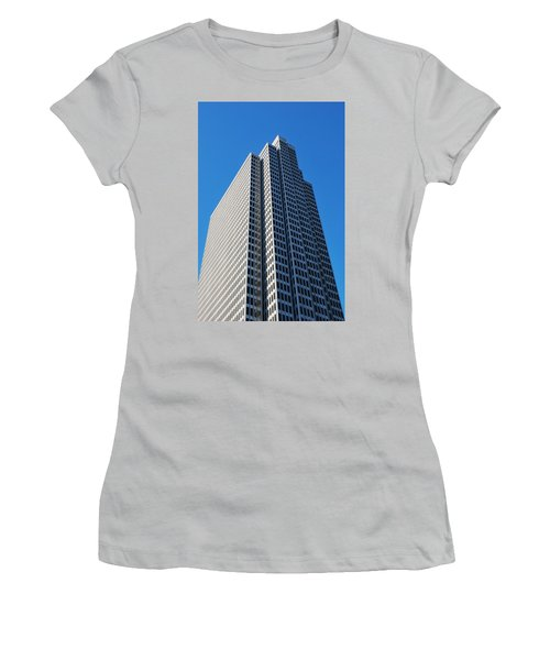Four Embarcadero Center Office Building - San Francisco - Vertical View Women's T-Shirt (Junior Cut) by Matt Harang