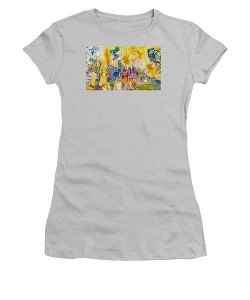 Four Seasons Chagall Women's T-Shirt (Athletic Fit)