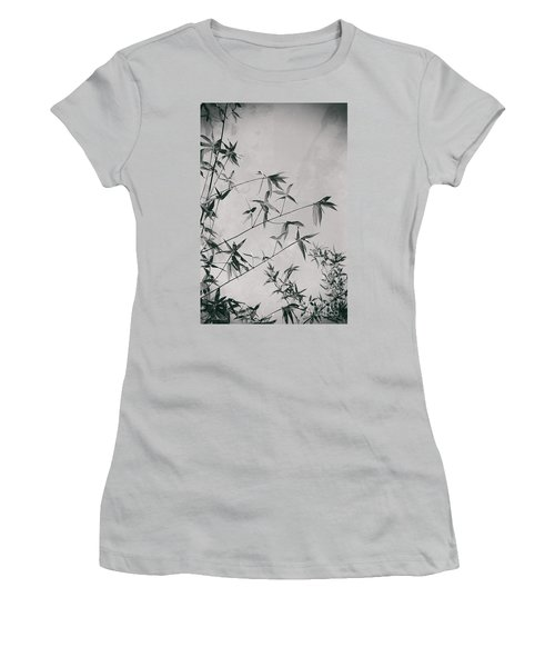 Women's T-Shirt (Athletic Fit) featuring the photograph Fragility And Strength by Linda Lees