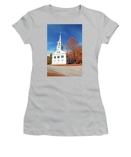 Francestown Meeting Women's T-Shirt (Athletic Fit)