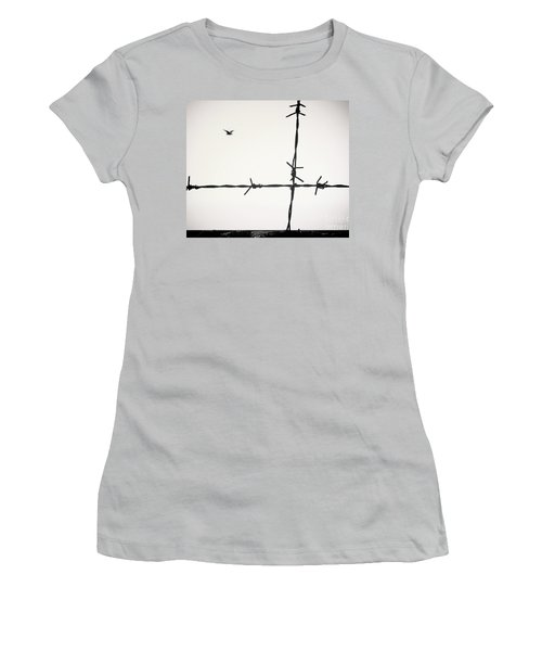 Freedom To Be Yourself... Women's T-Shirt (Athletic Fit)