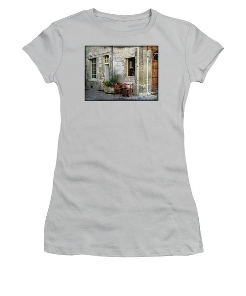 French Countryside Corner Women's T-Shirt (Athletic Fit)