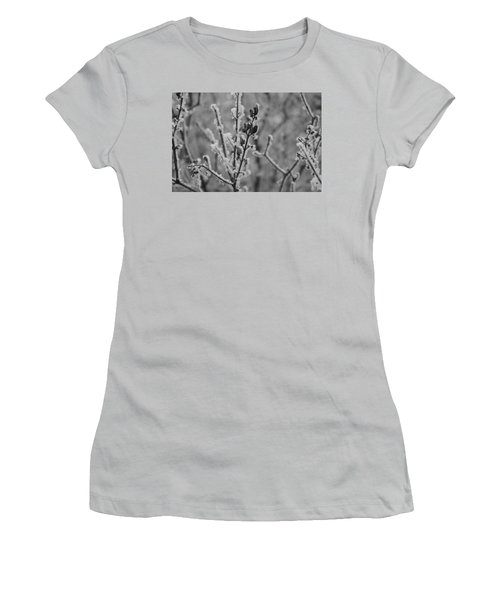 Women's T-Shirt (Athletic Fit) featuring the photograph Frost 5 by Antonio Romero