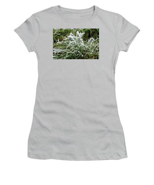 Frosted Grass Women's T-Shirt (Athletic Fit)