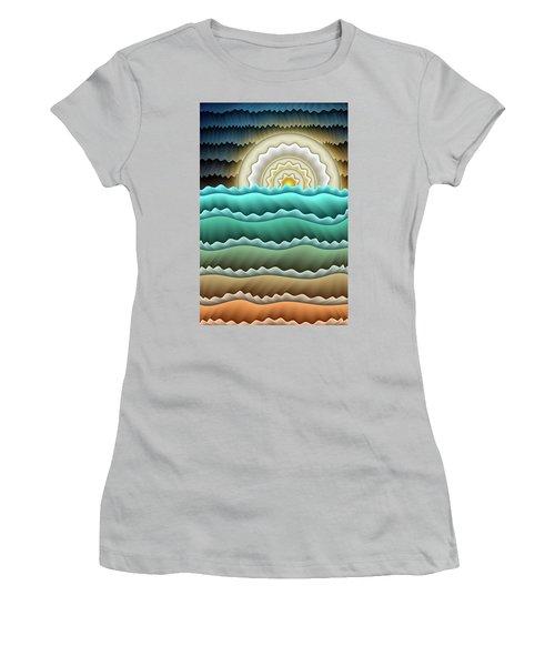 Full Moon Women's T-Shirt (Athletic Fit)
