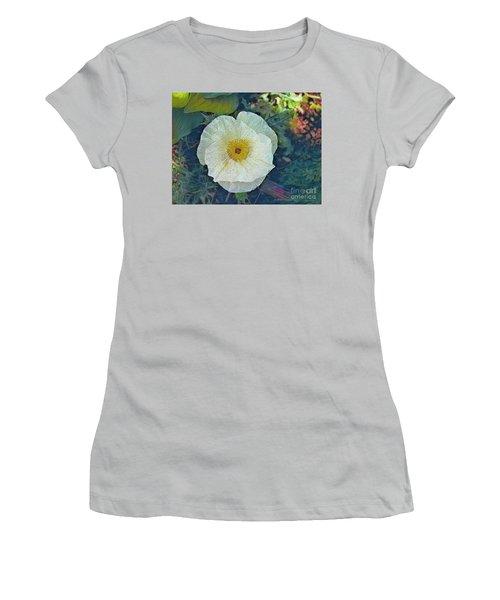Garden Beauty Women's T-Shirt (Junior Cut) by Kathie Chicoine