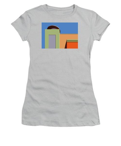 Geometry 101 Women's T-Shirt (Junior Cut) by Nikolyn McDonald