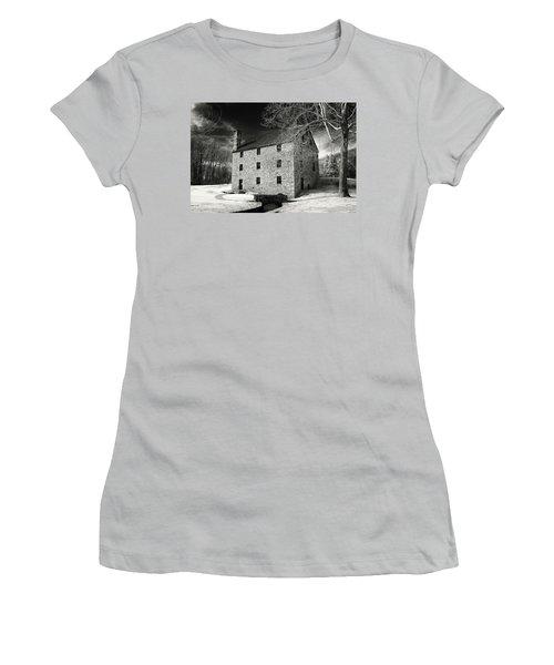 George Washingtons Gristmill Women's T-Shirt (Junior Cut) by Paul Seymour