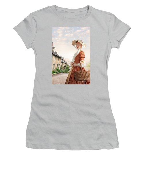 Georgian Period Woman Women's T-Shirt (Junior Cut) by Lee Avison