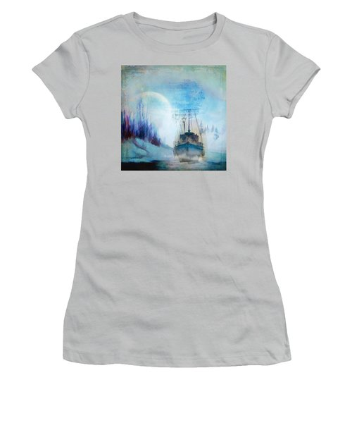 Ghost Ship Women's T-Shirt (Athletic Fit)