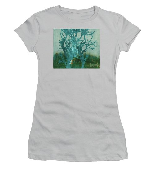 Ghost Tree Women's T-Shirt (Athletic Fit)