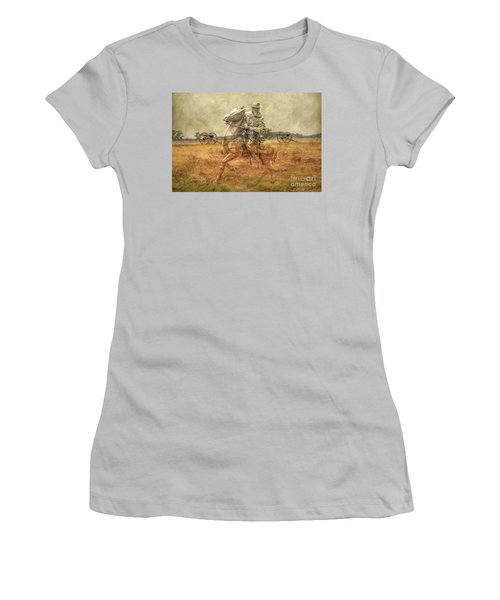 Ghosts Of Gettysburg II Women's T-Shirt (Athletic Fit)