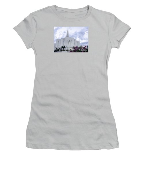 Gilbert Arizona Lds Temple 2 Women's T-Shirt (Athletic Fit)