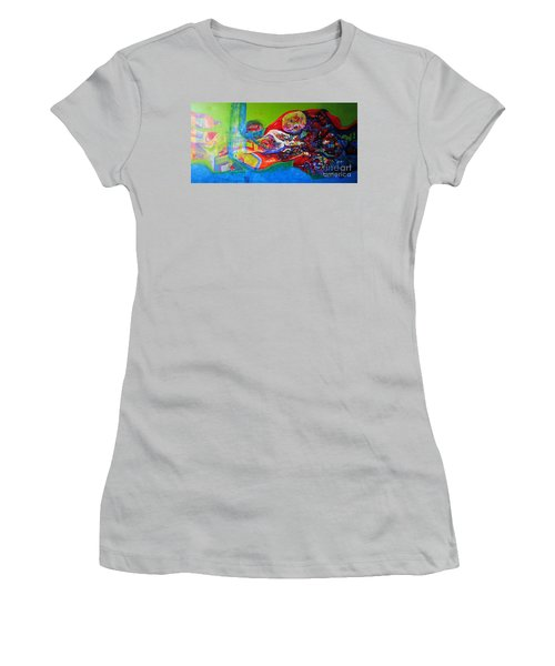 Glory Of Harmony Women's T-Shirt (Junior Cut) by Sanjay Punekar