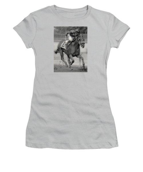 Going For The Win Women's T-Shirt (Junior Cut) by Lori Seaman