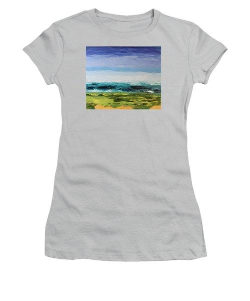 Golf Women's T-Shirt (Junior Cut) by Geeta Biswas