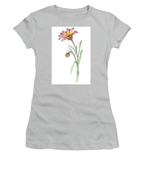 Gousblom Women's T-Shirt (Junior Cut) by Heidi Kriel