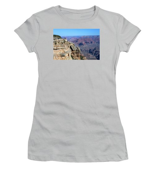 Grand Canyon South Rim Women's T-Shirt (Athletic Fit)