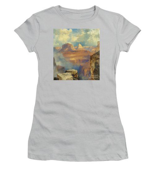 Grand Canyon Women's T-Shirt (Junior Cut) by Thomas Moran