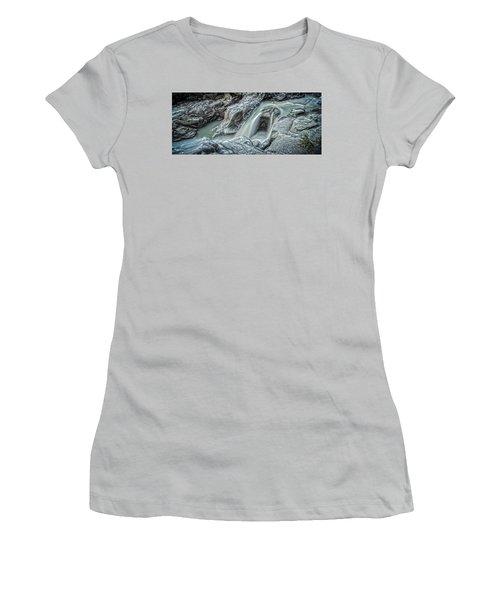 Granite Falls Blues Women's T-Shirt (Junior Cut) by Tony Locke
