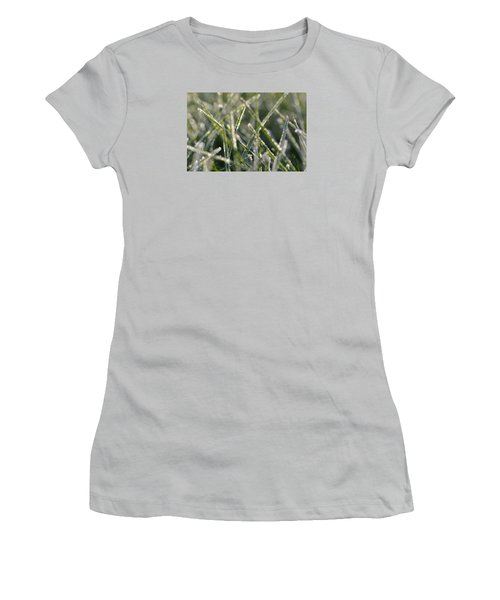 Grass Bokeh Women's T-Shirt (Athletic Fit)