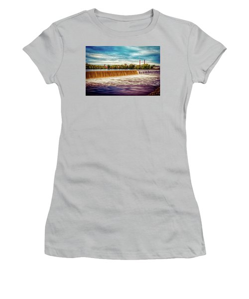 Great Stone Dam Women's T-Shirt (Athletic Fit)