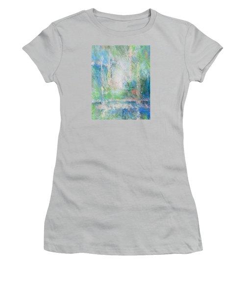 Grid Women's T-Shirt (Junior Cut) by Becky Chappell