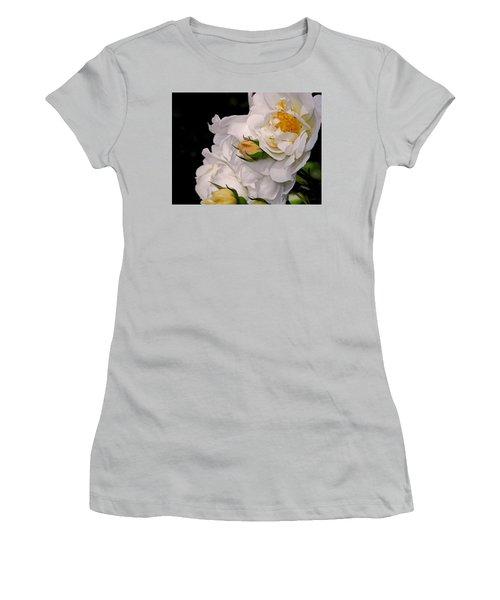 Growing Like The Wind Women's T-Shirt (Junior Cut) by Lynda Lehmann