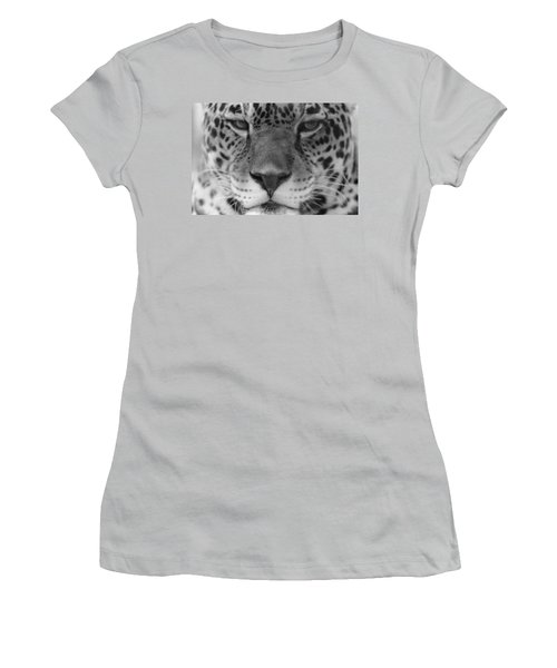 Grumpy Tiger  Women's T-Shirt (Athletic Fit)