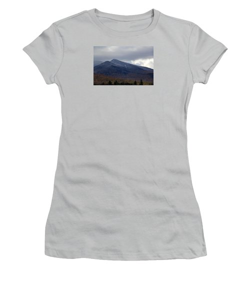 Half And Half Women's T-Shirt (Junior Cut)