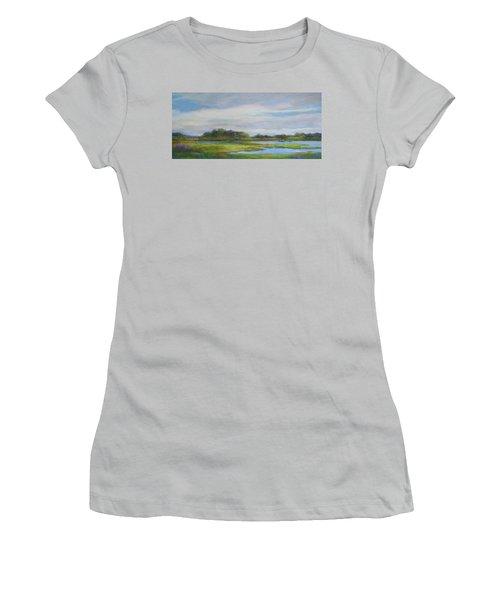 Hammonassett Sky Women's T-Shirt (Athletic Fit)