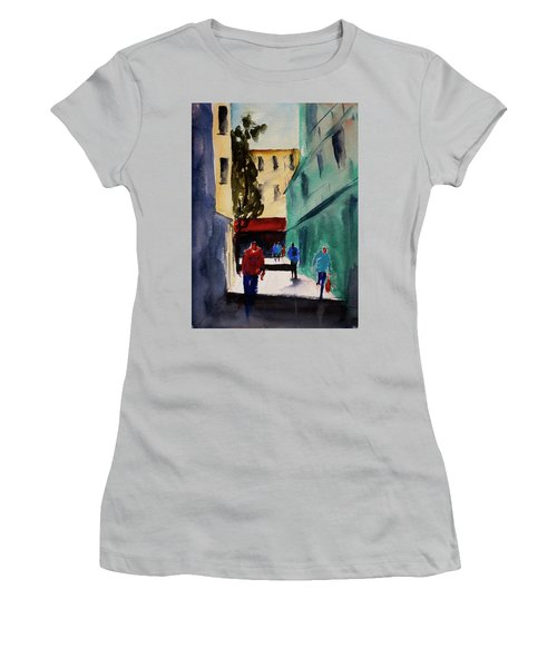 Hang Ah Alley1 Women's T-Shirt (Athletic Fit)