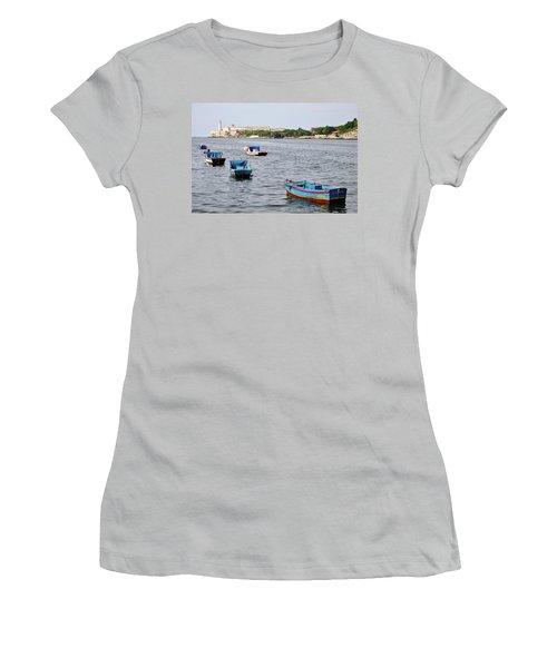 Havana Harbor Women's T-Shirt (Athletic Fit)