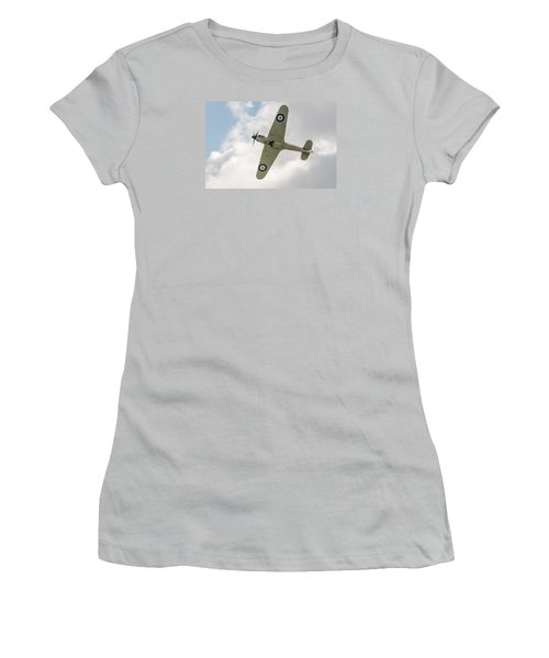Hawker Hurricane Mk I Women's T-Shirt (Junior Cut) by Gary Eason