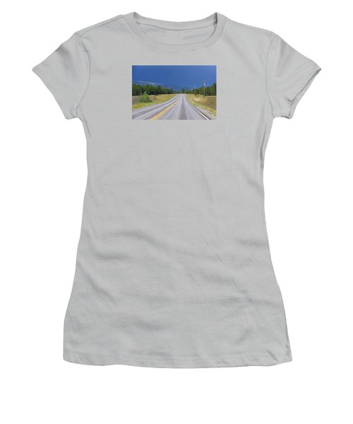 Heading Into The Storm Women's T-Shirt (Athletic Fit)