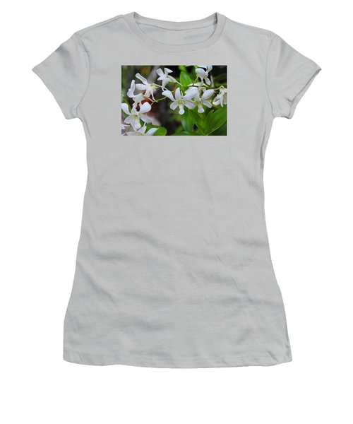Women's T-Shirt (Athletic Fit) featuring the photograph Hero Of My Heart by Michiale Schneider