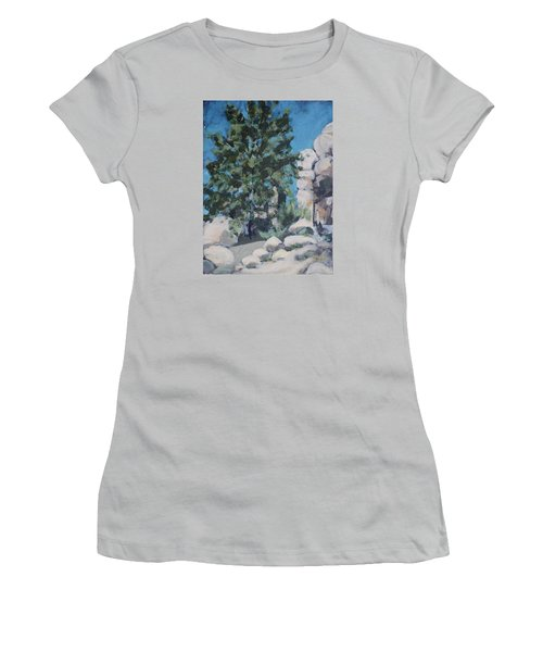 Hidden Valley Women's T-Shirt (Junior Cut) by Richard Willson