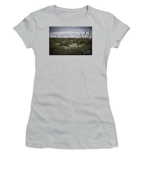 Hilton Head Women's T-Shirt (Junior Cut) by Judy Wolinsky